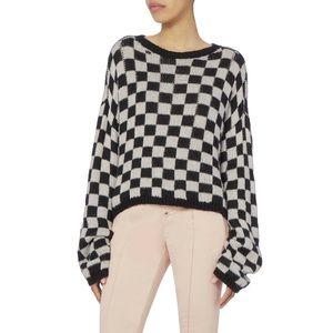 Like New A.L.C. Remington Checkered Sweater